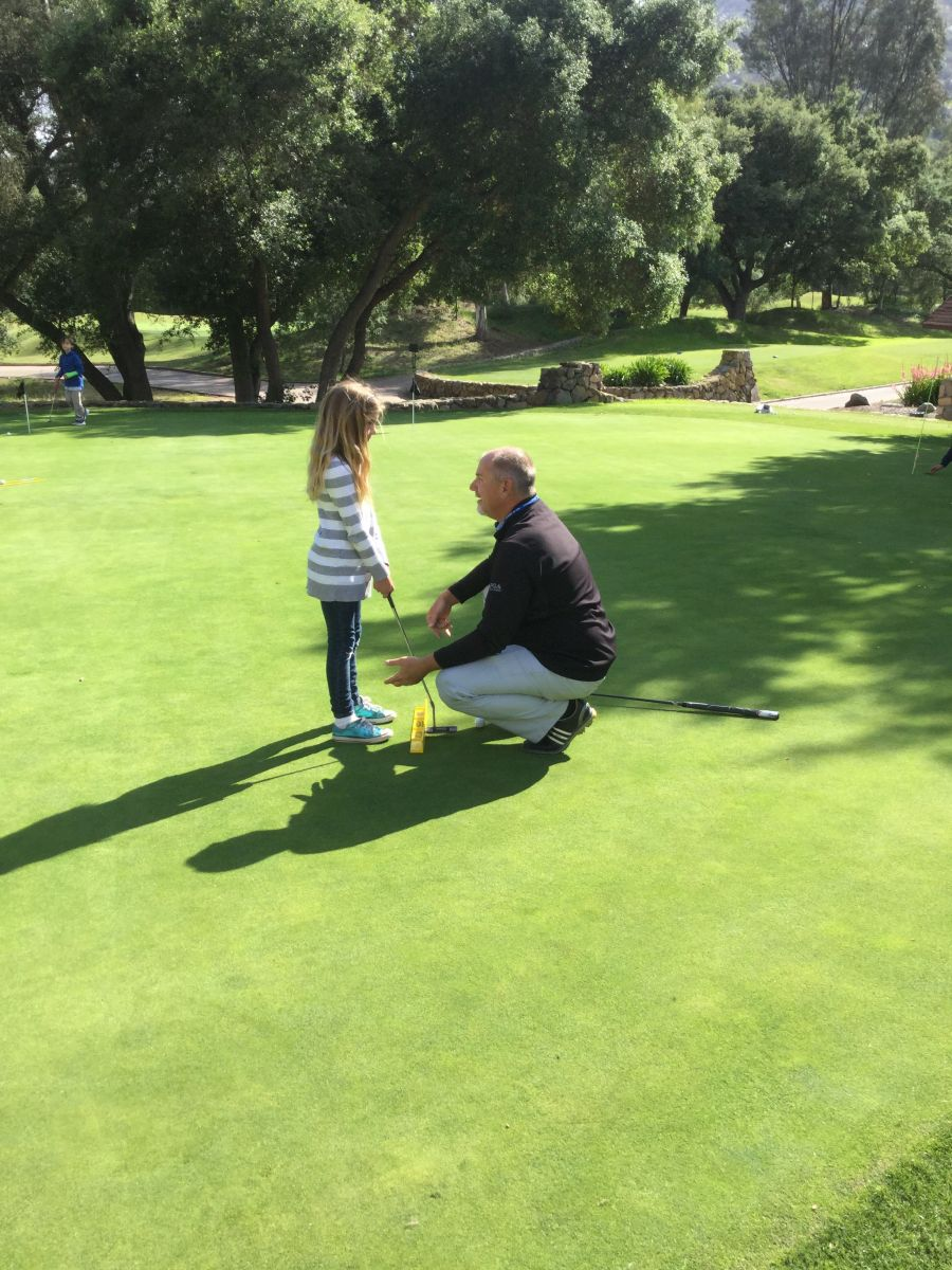 San Diego County Golf Lessons, Ramona Golf Instruction with Perry Dotson